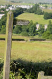 Public Bridleway Sign Stock Images