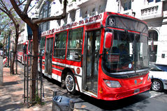 Public Buenos Aires bus Royalty Free Stock Photo
