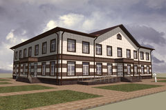 Public Building Royalty Free Stock Photo