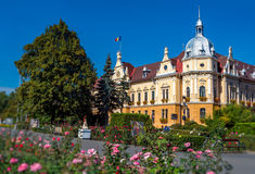 Public Building in Brasov Stock Photography