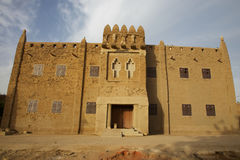 Public building in djenne� Stock Images