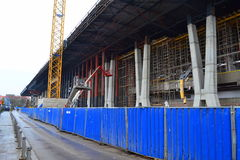 Public building reconstruction Royalty Free Stock Photography