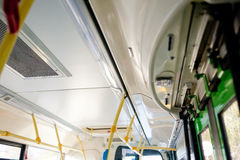 Public Bus Interior Royalty Free Stock Images