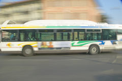 Public bus in Nice, France Stock Photography