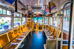 Public Bus without passengers Stock Image