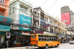 Public Bus Bangkok Thailand Stock Photo