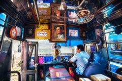 Public Bus in Thailand Royalty Free Stock Photos