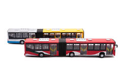 Public bus toy Stock Images
