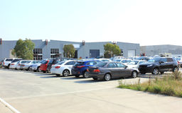 Public carpark Royalty Free Stock Image