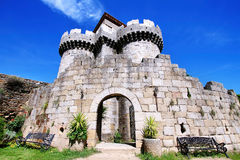 Public castle of Granadilla. In caceres extremadura, Spain Stock Photography