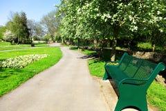 Public city park Stock Image