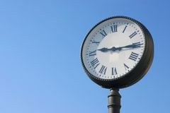 Public clock Stock Photography