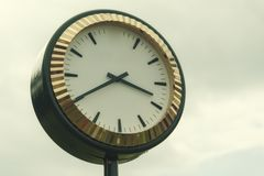 Public clock Royalty Free Stock Photography