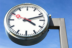 Public clock Royalty Free Stock Photo