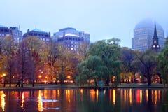 public de jardin de Boston Image libre de droits