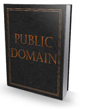 Public domain book Royalty Free Stock Images