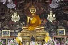 Public domain de Buda en Bangkok Imagenes de archivo