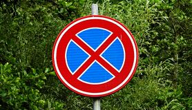 PUBLIC DOMAIN DEDICATION digionbew 8. juni - 11-06-16 Traffic sign LOW RES S1440053 Stock Image