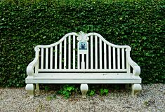 PUBLIC DOMAIN DEDICATION - Pixabay digionbew 11. 04-07-16 Bench Frankendael LOW  RES DSC04237 Royalty Free Stock Image