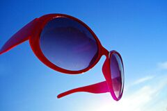 PUBLIC DOMAIN DEDICATION - Pixabay-Pexels digionbew 14. 04-08-16 Sunglasses in the sky LOW RES DSC07899 Stock Photos