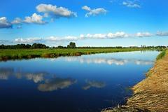 PUBLIC DOMAIN DEDICATION - Pixabay-Pexels digionbew 17. 29-08-16 Waterway under clouds LOW RES DSC01071 Royalty Free Stock Photos