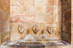 Public Drinking Fountain, Barcelona, Spain Royalty Free Stock Photography
