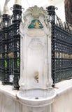 Public Drinking Fountain, Istanbul Royalty Free Stock Photo