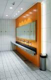 Public empty restroom Royalty Free Stock Photo