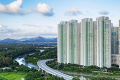 Public Estate in Hong Kong Stock Photography