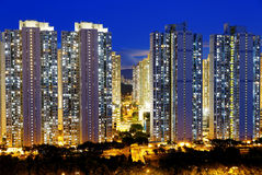 Public Estate in Hong Kong Royalty Free Stock Photo