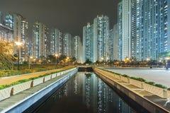 Public estate in Hong Kong Stock Photo