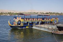 Public Ferry, River Nile, Luxor Royalty Free Stock Photo