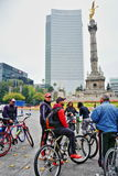 Public Fitness Activities In Mexico City Stock Photography