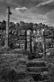Public footpath Royalty Free Stock Image
