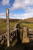 Public Footpath Stock Images