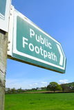 Public footpath Stock Photography