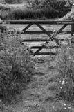 Public Footpath Wooden Gate