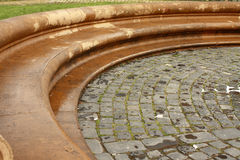 Public fountain details Stock Photos