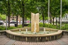 Public fountain Stock Photos