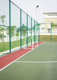 Public futsal court. Royalty Free Stock Photography