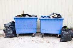Public garbage Stock Image
