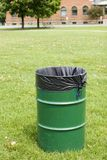 Public Garbage Can Royalty Free Stock Images