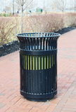 Public Garbage Can Royalty Free Stock Photos
