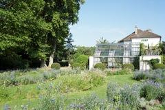 Public garden of bercy Stock Image