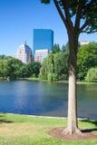 The Public Garden in Boston Royalty Free Stock Photo