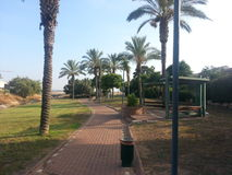 Public garden. A public park in Rosh Ha`ayin, Israel Stock Photography