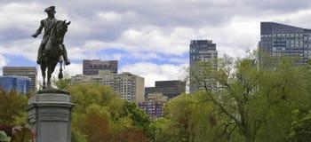 Public Gardens Boston Stock Images