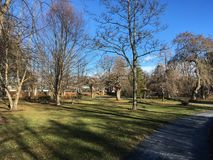 Public Gardens Halifax Nova Scotia stock images