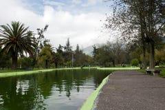 Public gardens in Quito Stock Images
