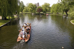 Public Gardens Swan Boats Royalty Free Stock Images